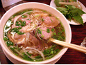 Typical beef pho